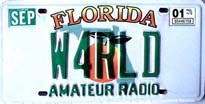 Florida Amateur Radio Tag
